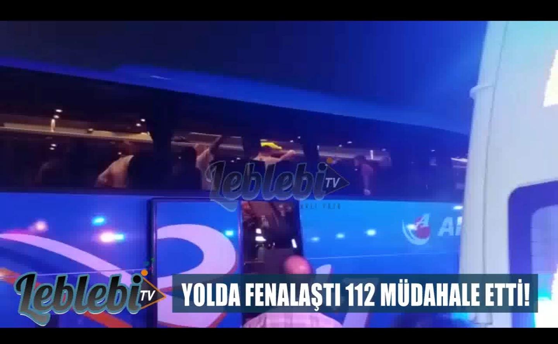 YOLDA FENALAŞTI 112 MÜDAHALE ETTİ!