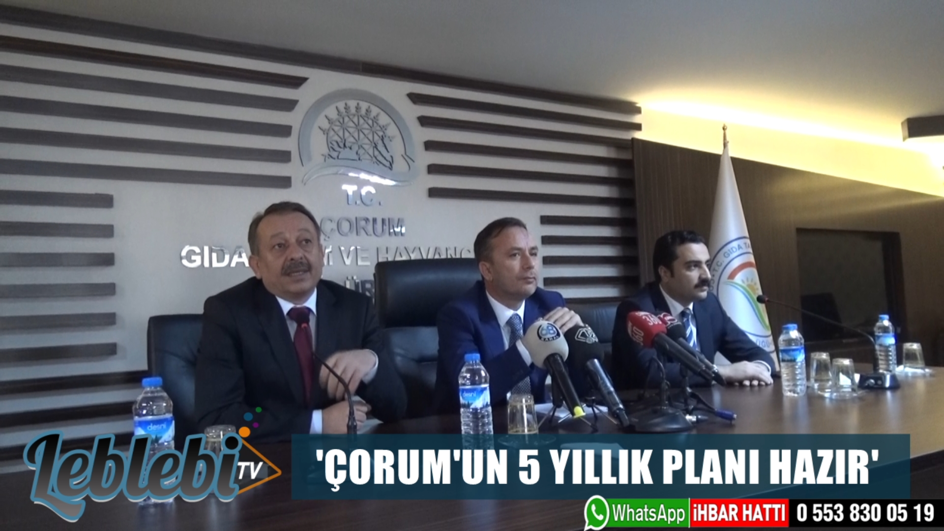 'ÇORUM'UN 5 YILLIK PLANI HAZIR'