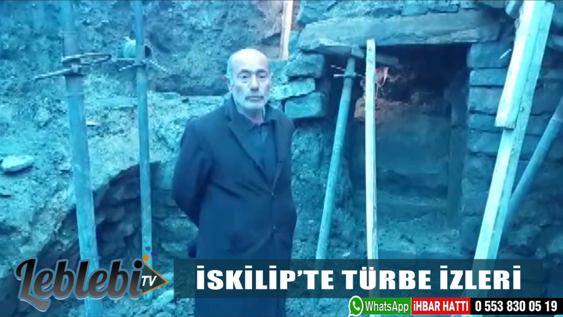 İSKİLİP'TE TÜRBE İZLERİ