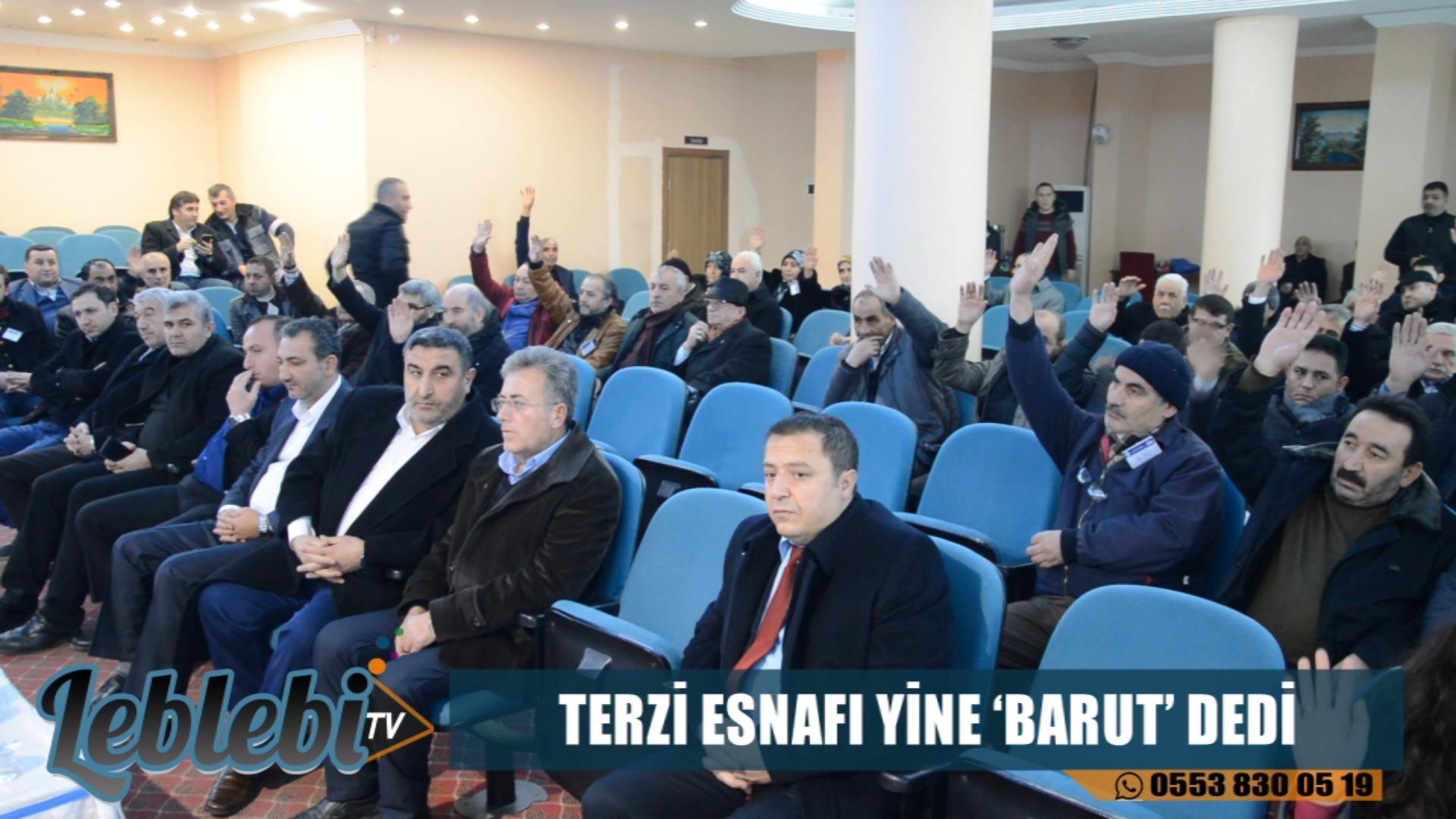 TERZİ ESNAFI YİNE 'BARUT' DEDİ