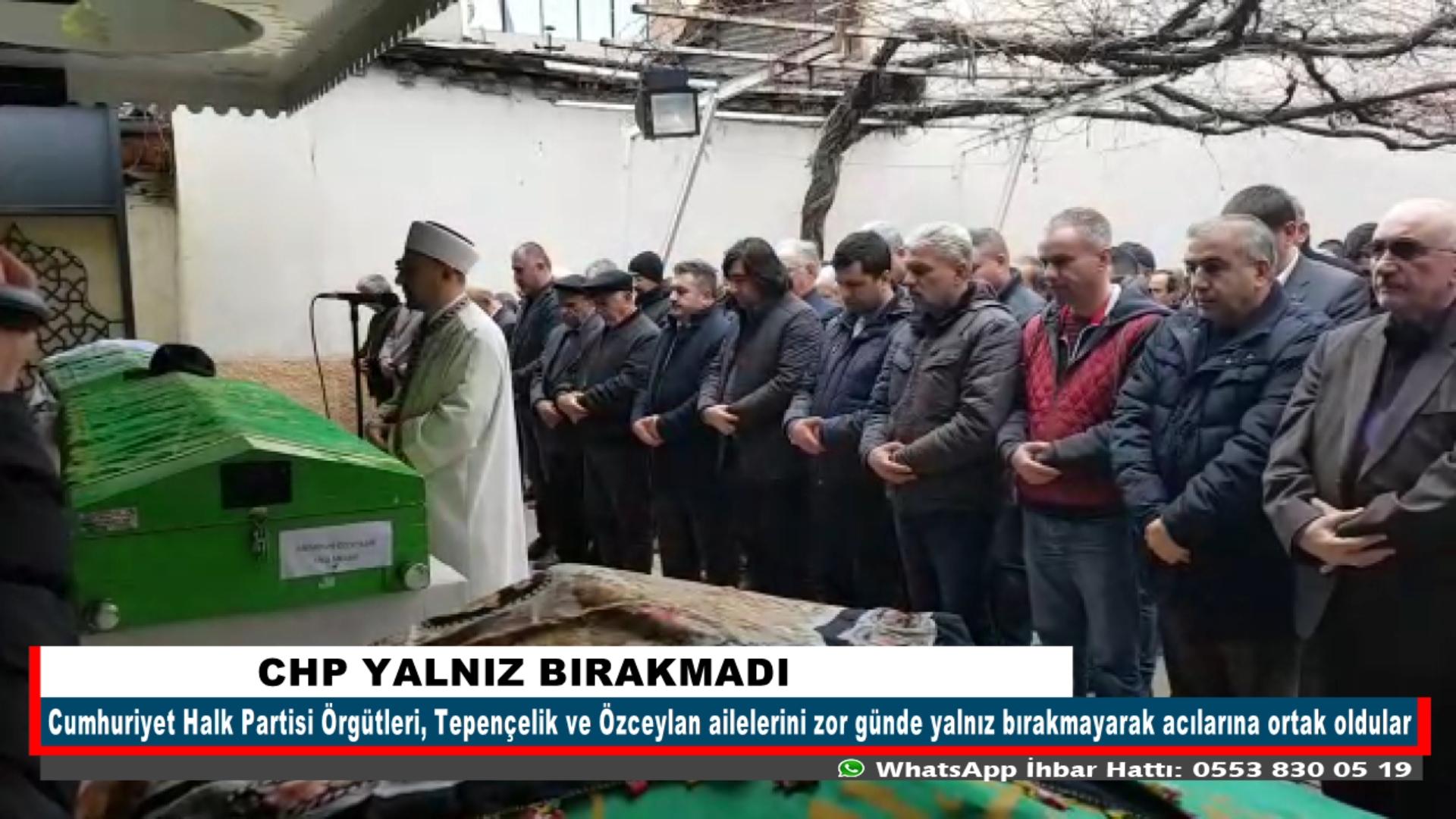 CHP YALNIZ BIRAKMADI