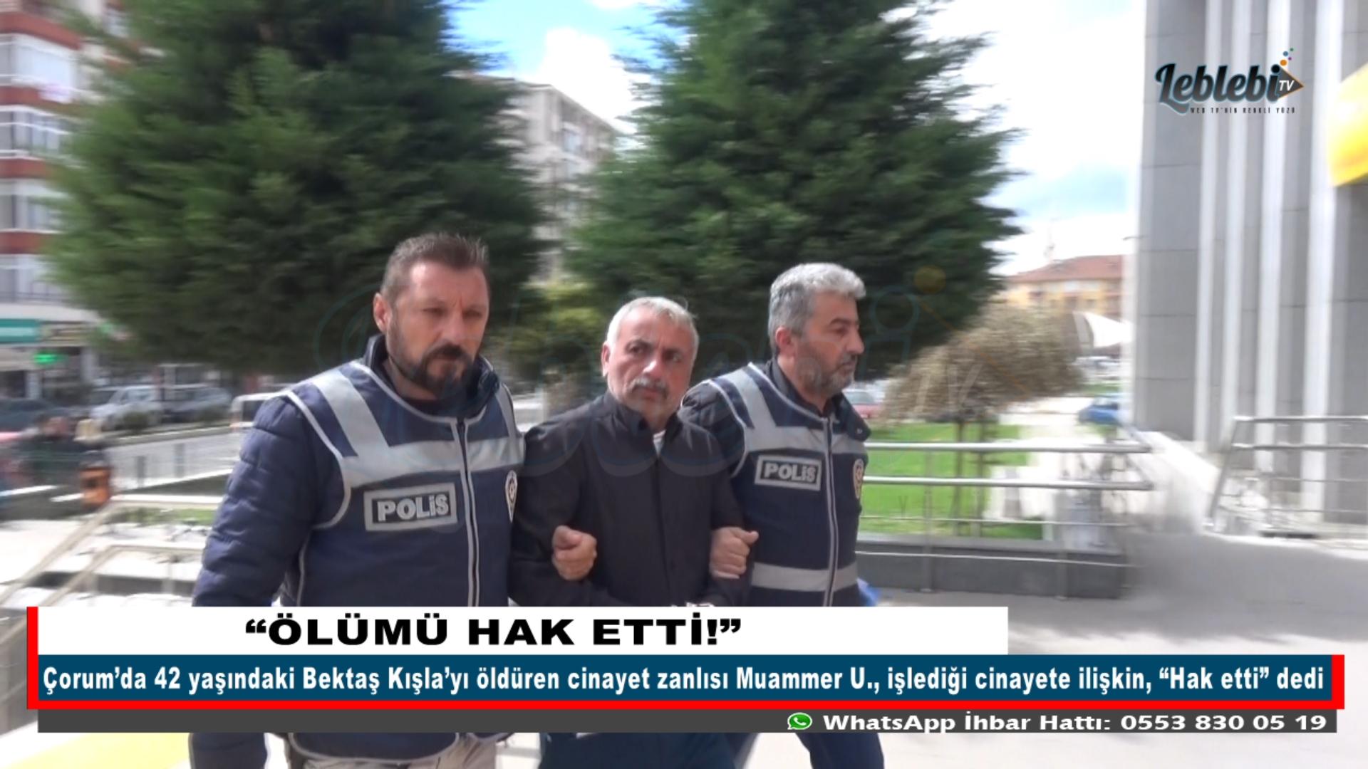 """""""ÖLÜMÜ HAK ETTİ!"""""""