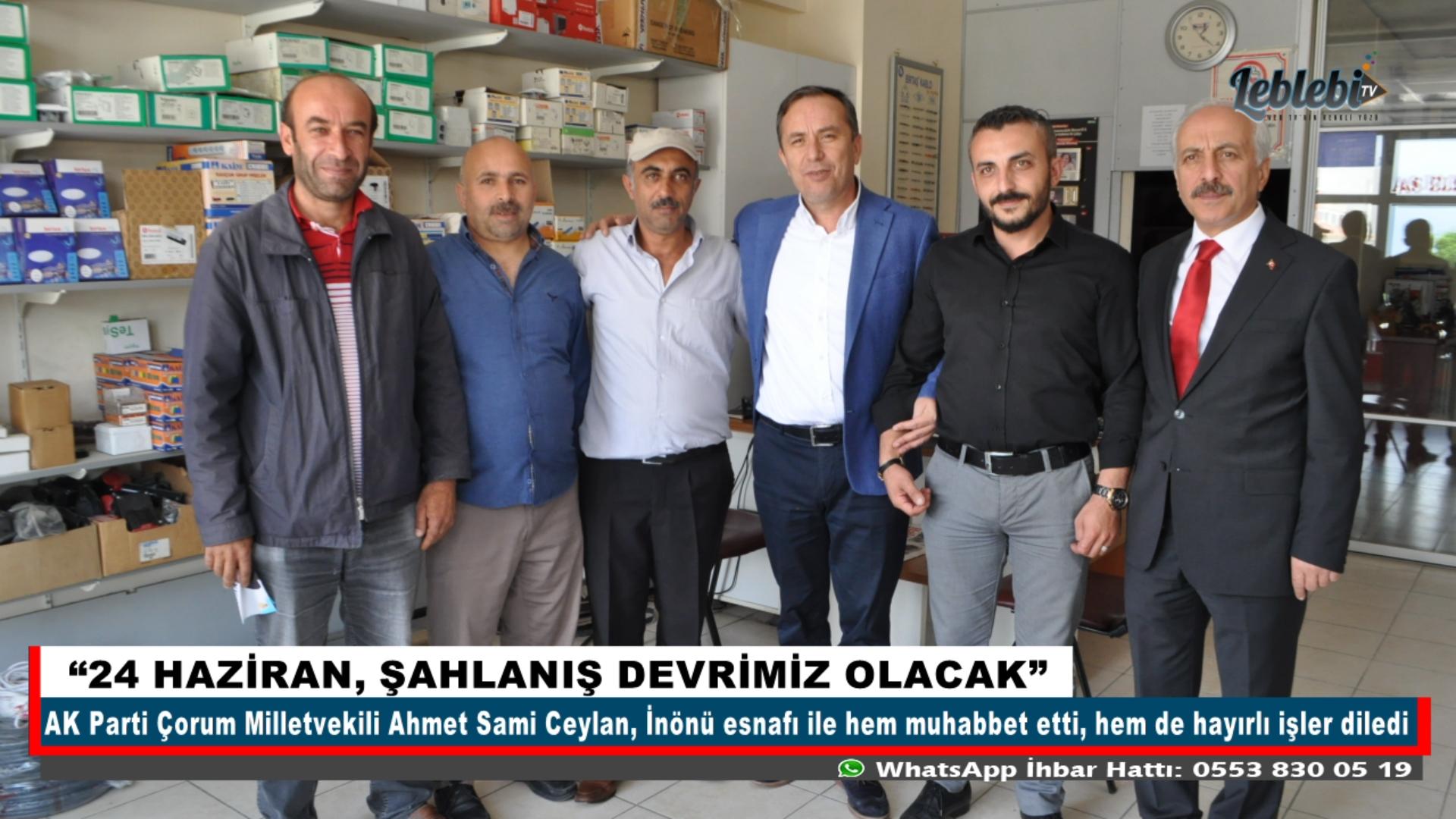 """""""24 HAZİRAN, ŞAHLANIŞ DEVRİMİZ OLACAK"""""""