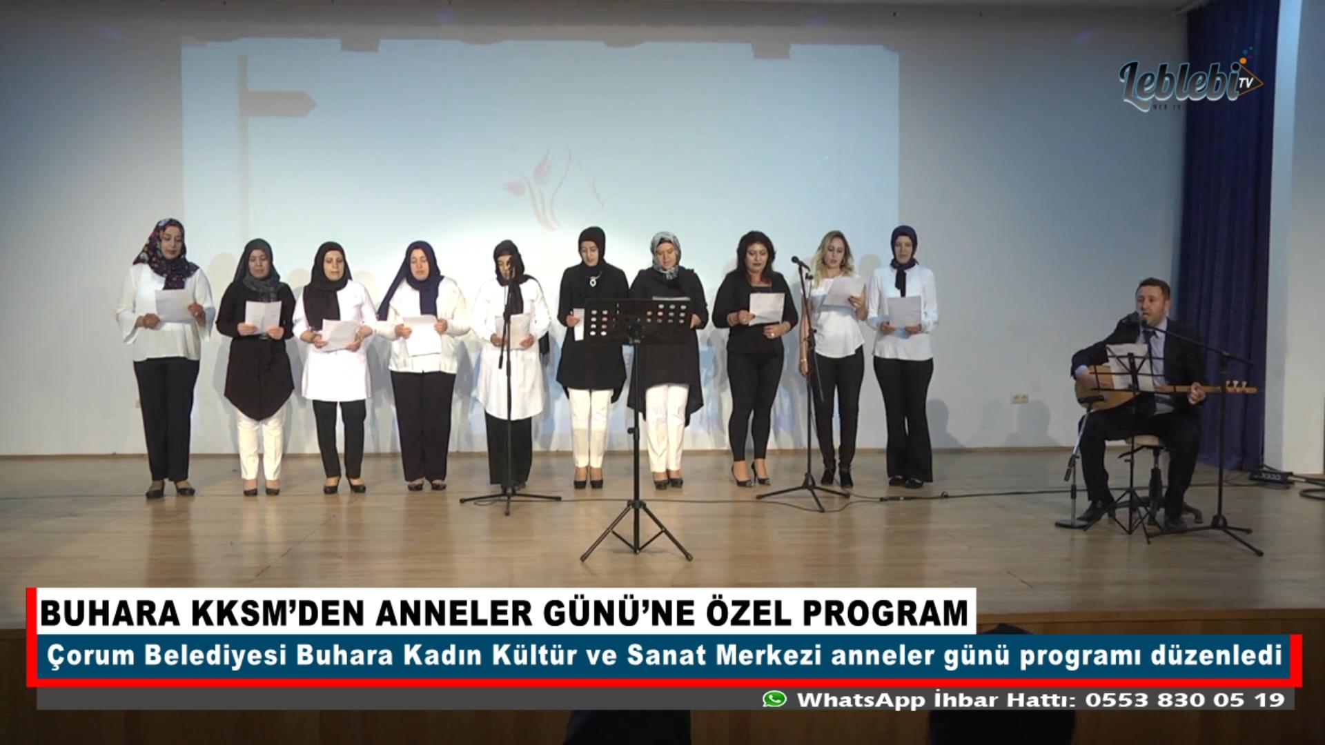 BUHARA KKSM'DEN ANNELER GÜNÜ'NE ÖZEL PROGRAM