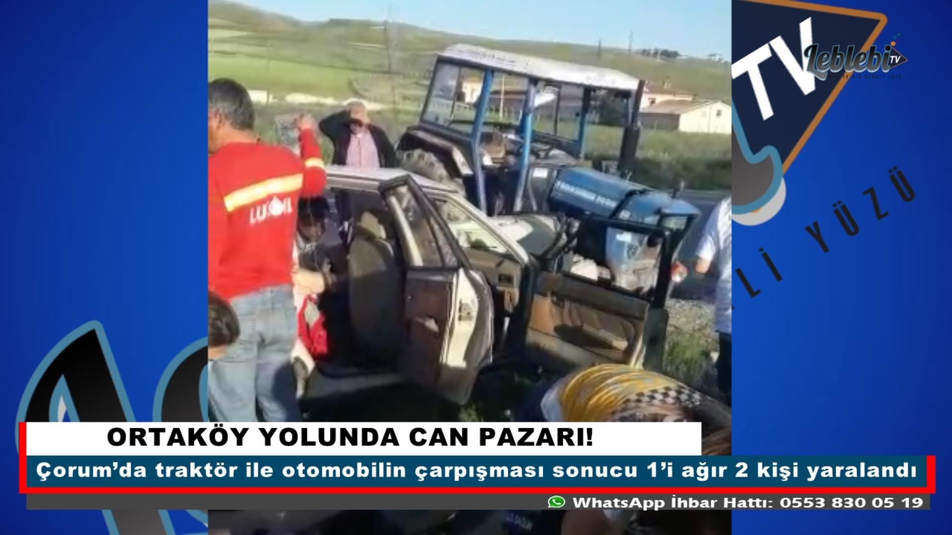 ORTAKÖY YOLUNDA CAN PAZARI!