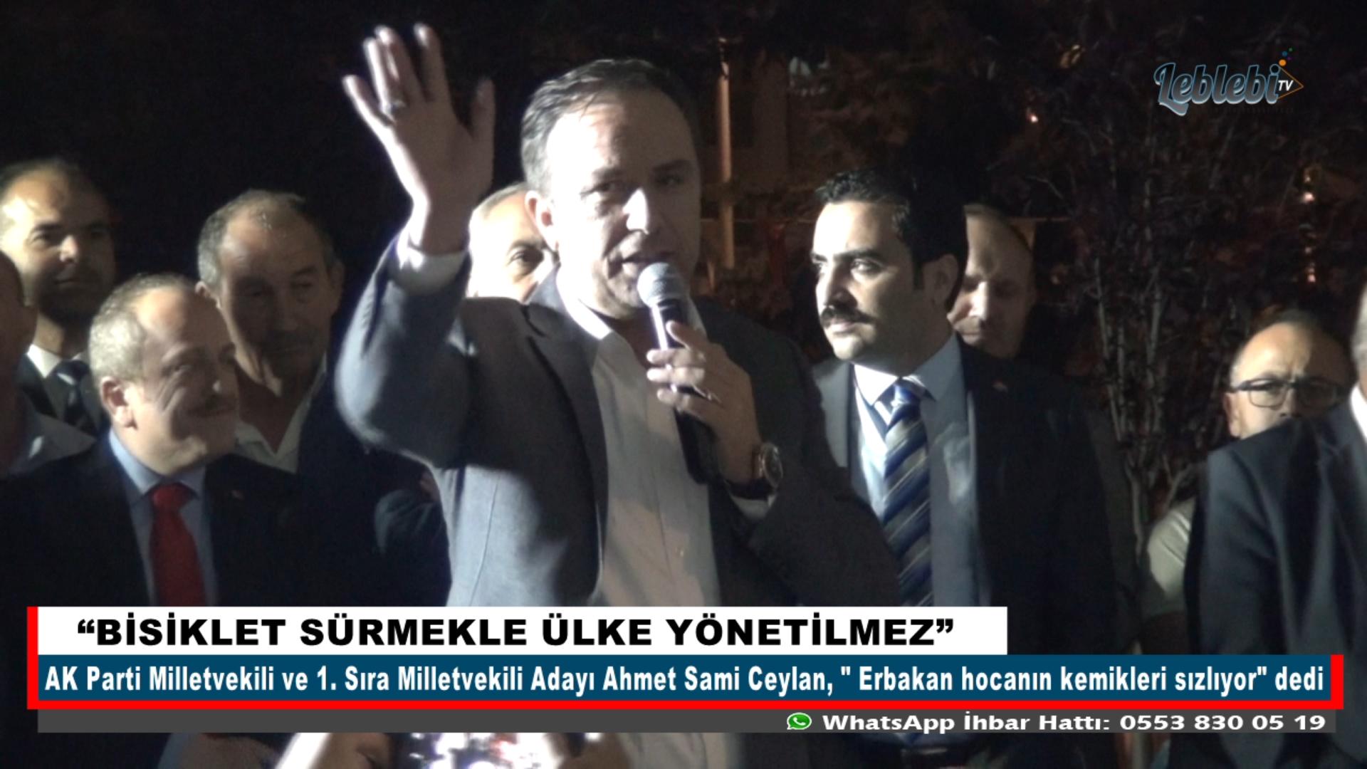 """""""BİSİKLET SÜRMEKLE ÜLKE YÖNETİLMEZ"""""""