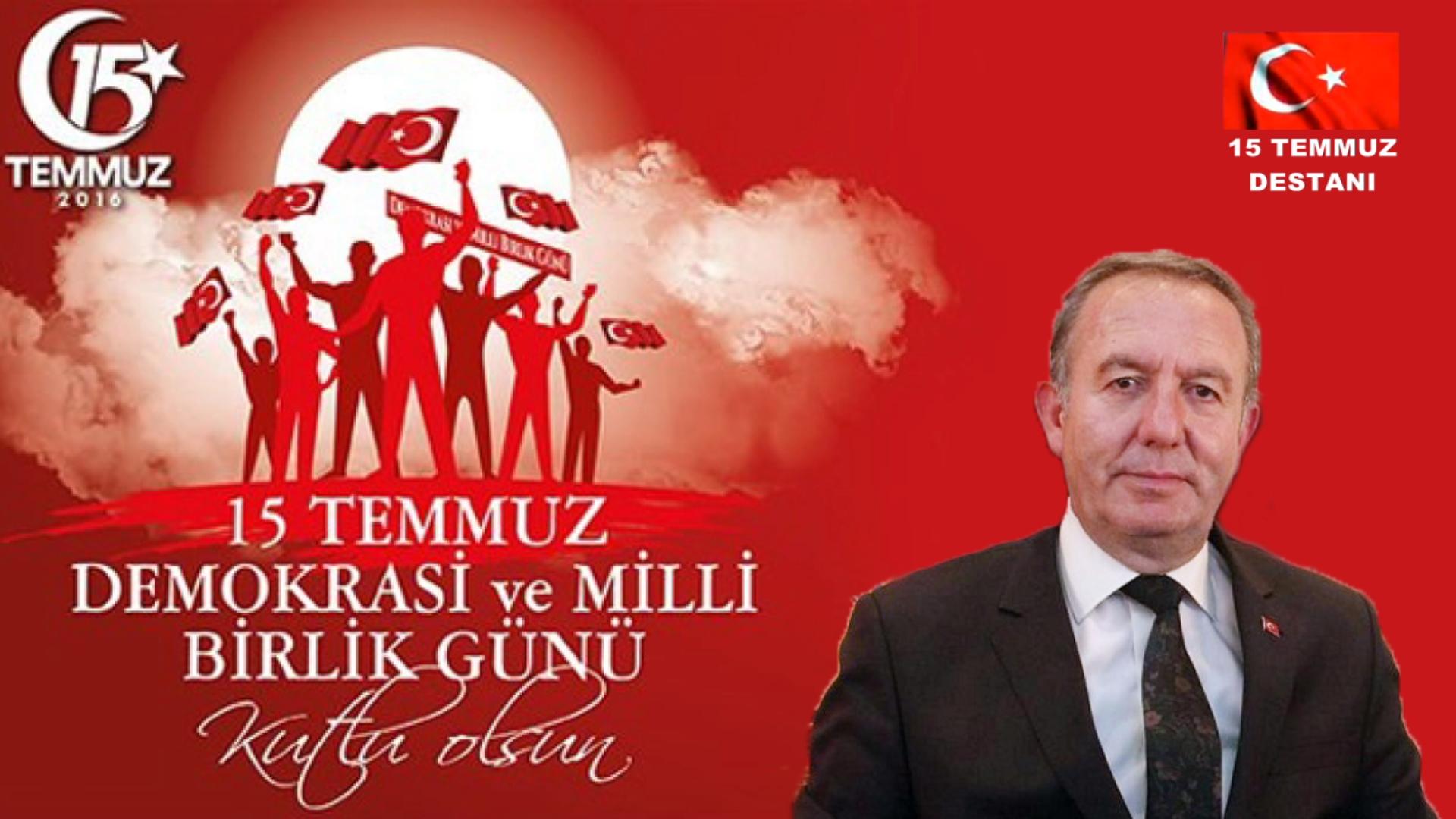 15 Temmuz Demokrasi ve Milli Birlik Gününüz Kutlu Olsun – Abdulkadir Şahiner Sungurlu Belediye Başkanı