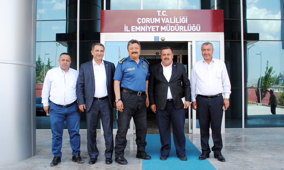 RECEP GÜR'DEN İADE-İ ZİYARET TURU