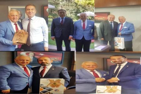 ORHAN ATEŞ'TEN TBMM'YE ZİYARET