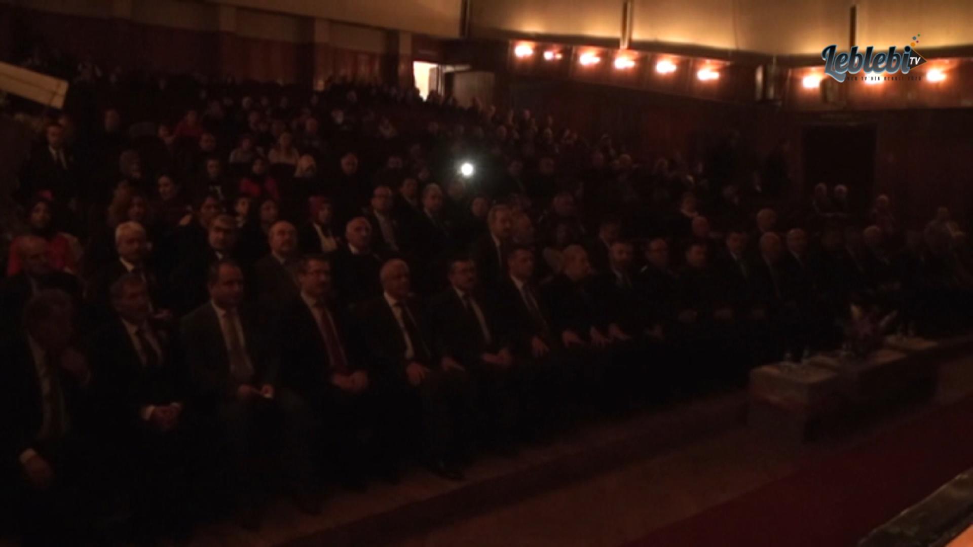 ÖĞRETMENLER GÜNÜ ÇORUM'DA KUTLANDI