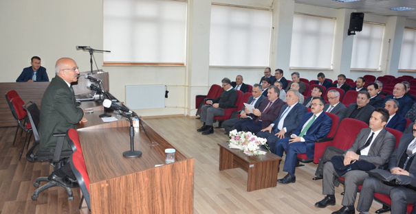 """EKİP RUHUYLA ÇALIŞMALIYIZ"""