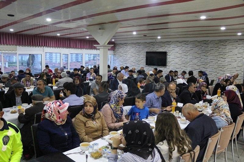 Şehit Aileleri ve Gaziler İftarda Buluştu