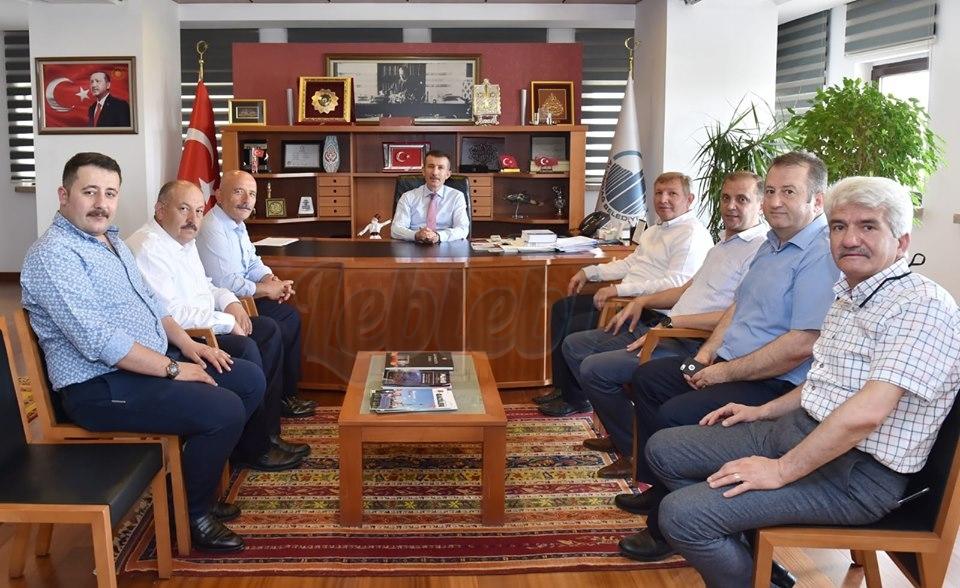 Ahmet Gelgör'den Asım Balcı'ya Hayırlı Olsun Ziyareti
