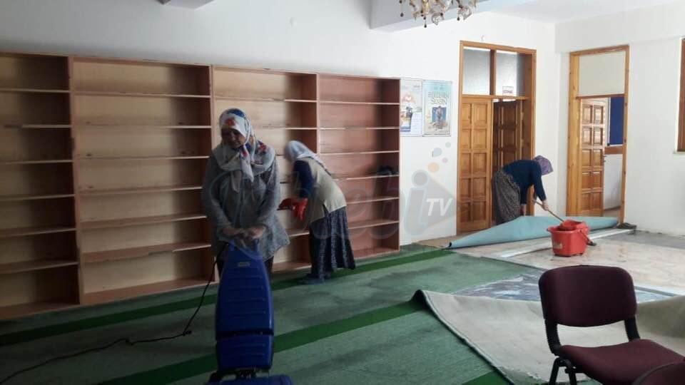 Ortaköy'de Bayram Temizliği Yapılıyor
