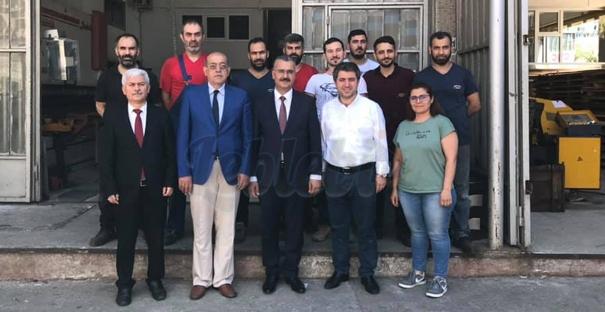 İstanbul'daki Kargılıları İş Yerinde Ziyaret Etti