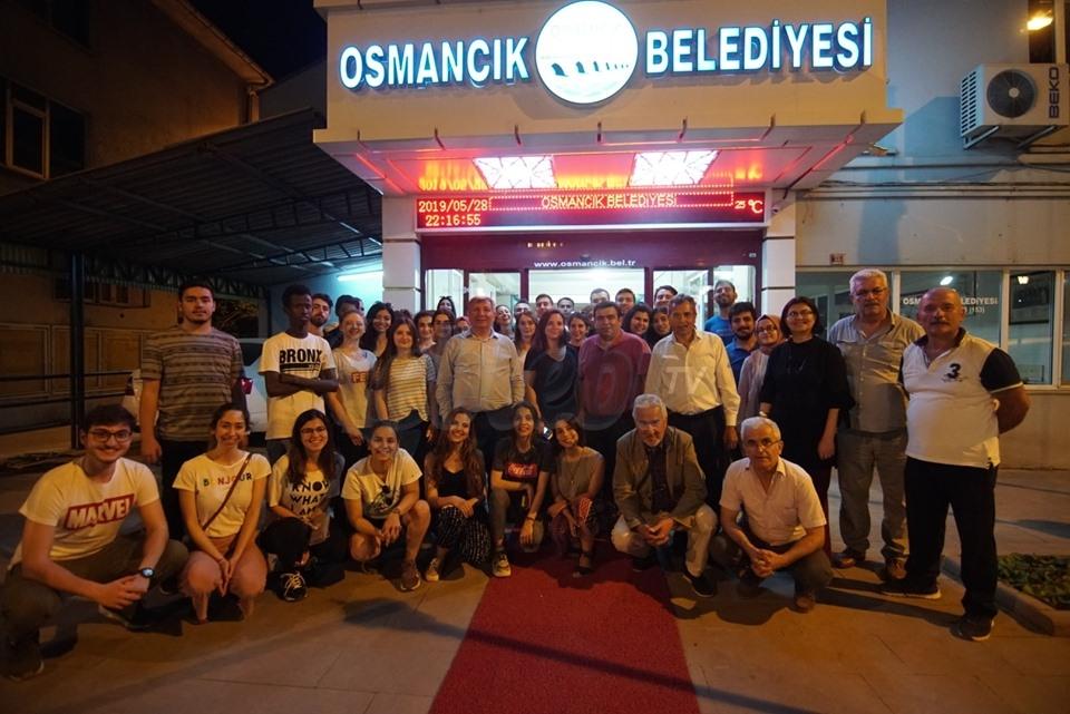 Araçları Arıza Yapan Öğrencileri, Osmancık Misafir Etti