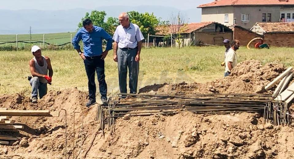 Merkez Şendere Göleti İçme Suyu Projesi Çalışmalarını İnceledi