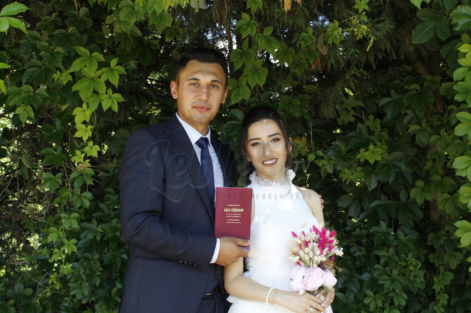 Cansu ve Sinan Çiftinin Mutlu Günü