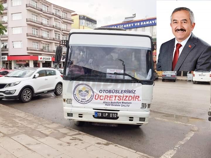 O Belediyede Otobüsler Artık Ücretsiz