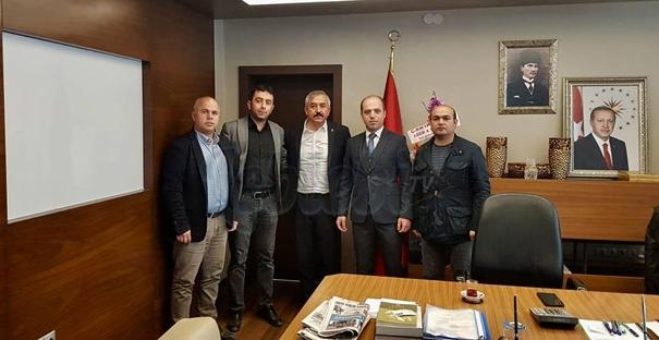 Başkan Şaltu'ya Ziraat Odası'ndan Ziyaret