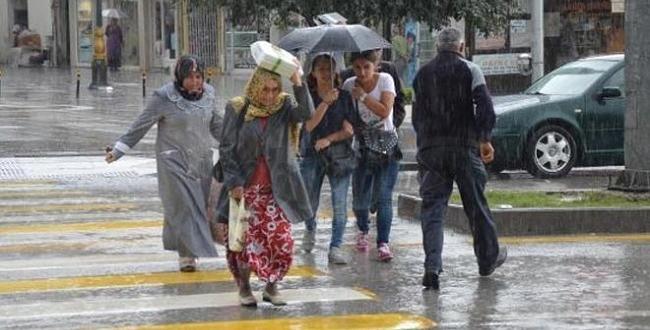 Meteoroloji'den Dolu ve Sağanak Yağış Uyarısı !