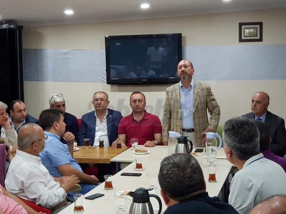 Çorumlu Siyasiler, İstanbul'daki Uğurludağ'lılarla Buluştu
