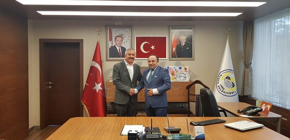 ÇESİAD Başkanından Halil İbrahim Şaltu'ya Ziyaret
