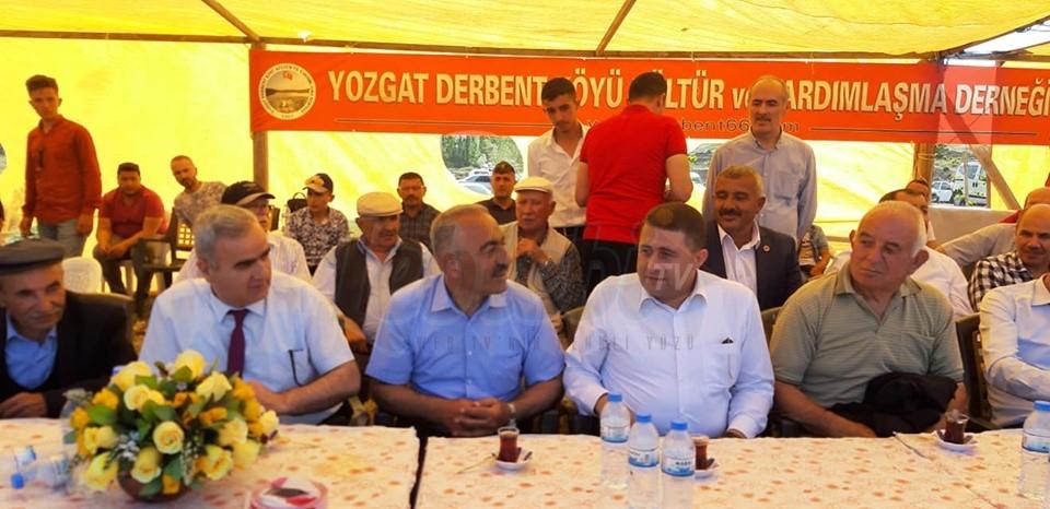 Derbent Köyü Yayla Şenliklerine Katılım Sağlandı