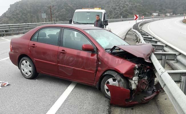 Kargı'da Trafik Kazası : 2 Yaralı