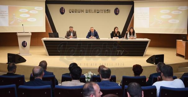 Belediye Meclis Üyeleri Stratejik Plan Sürecine Dahil Edildi