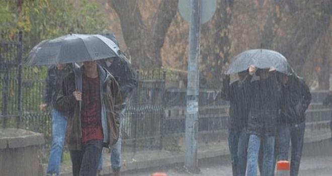 Meteoroloji,62 İle Yağış Uyarısı Yaptı