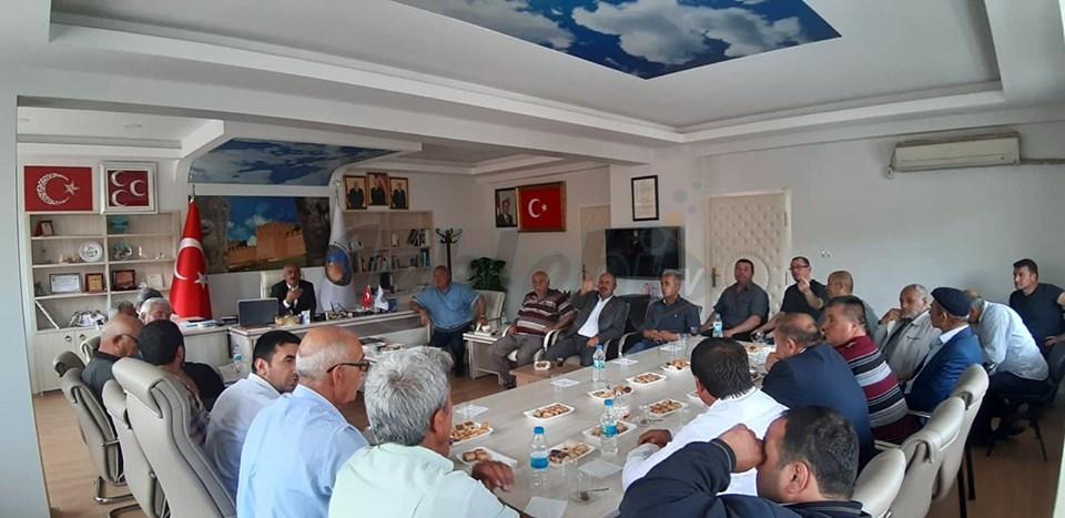 Boğazkale Belediyesinde Halk Toplantısı Yapıldı
