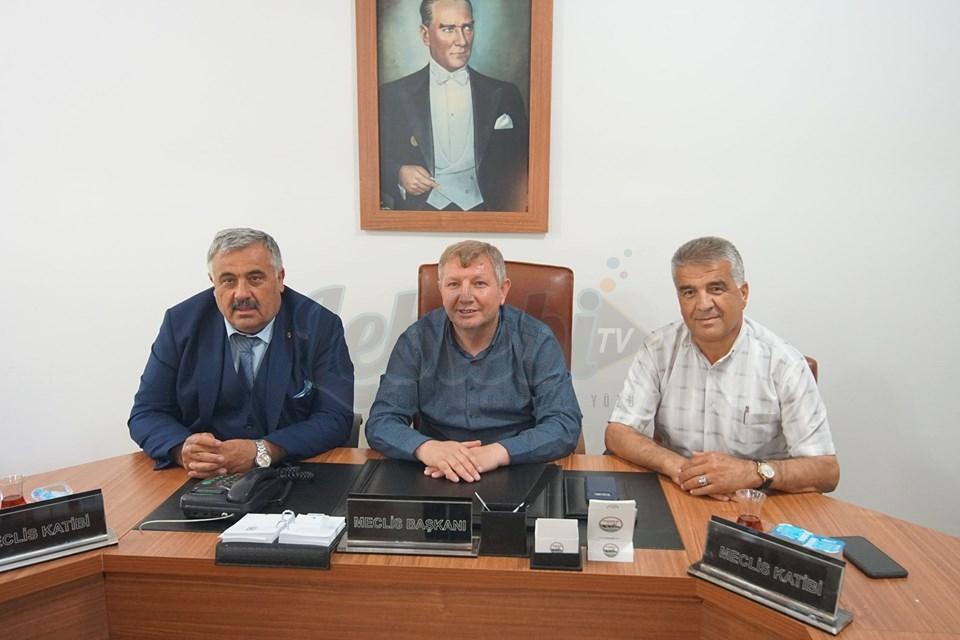 Esnaf Odalarından Ahmet Gelgör'e Hayırlı Olsun Ziyareti