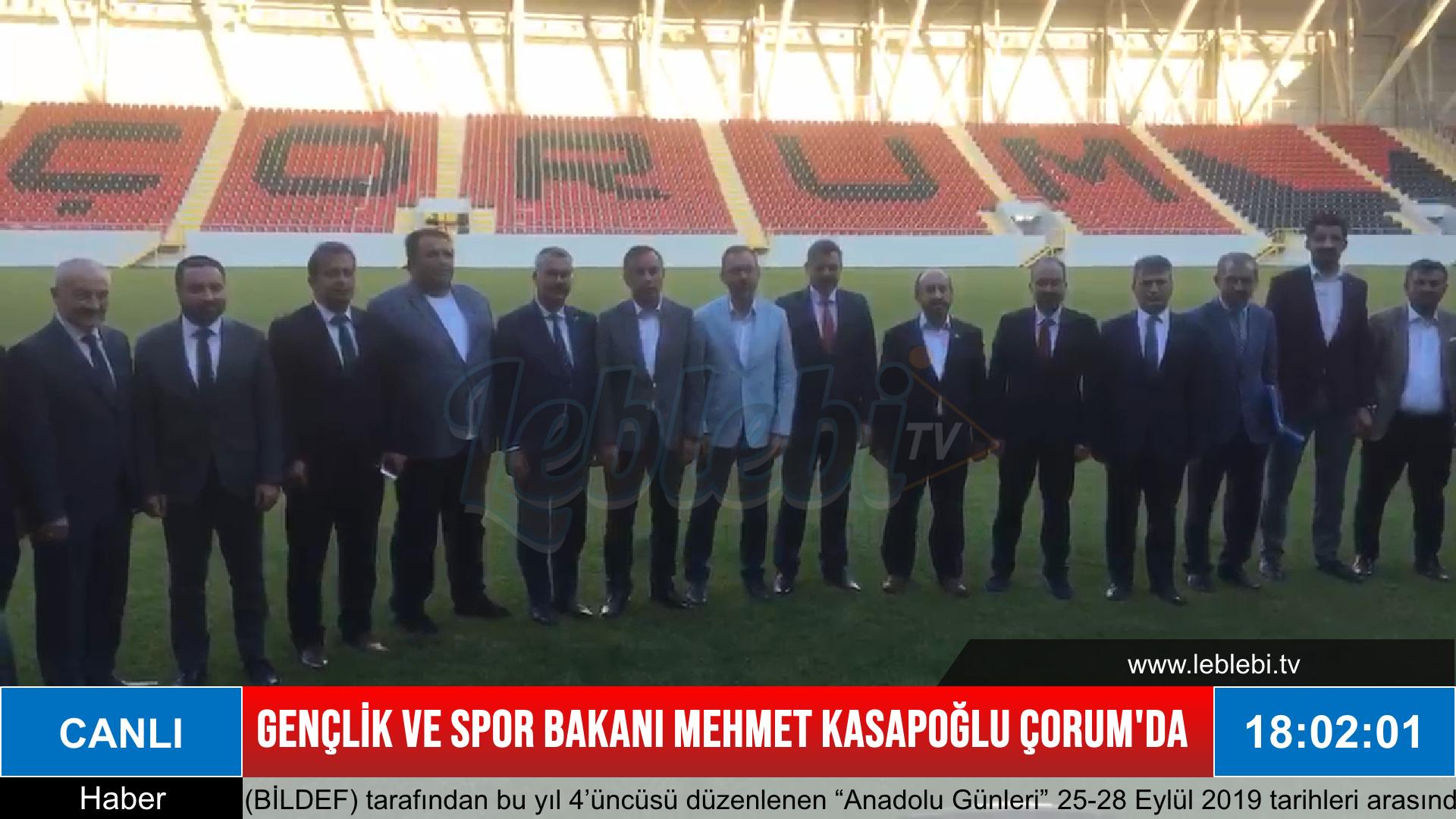 Bakanlık Yeni Stadı Teslim Alıyor