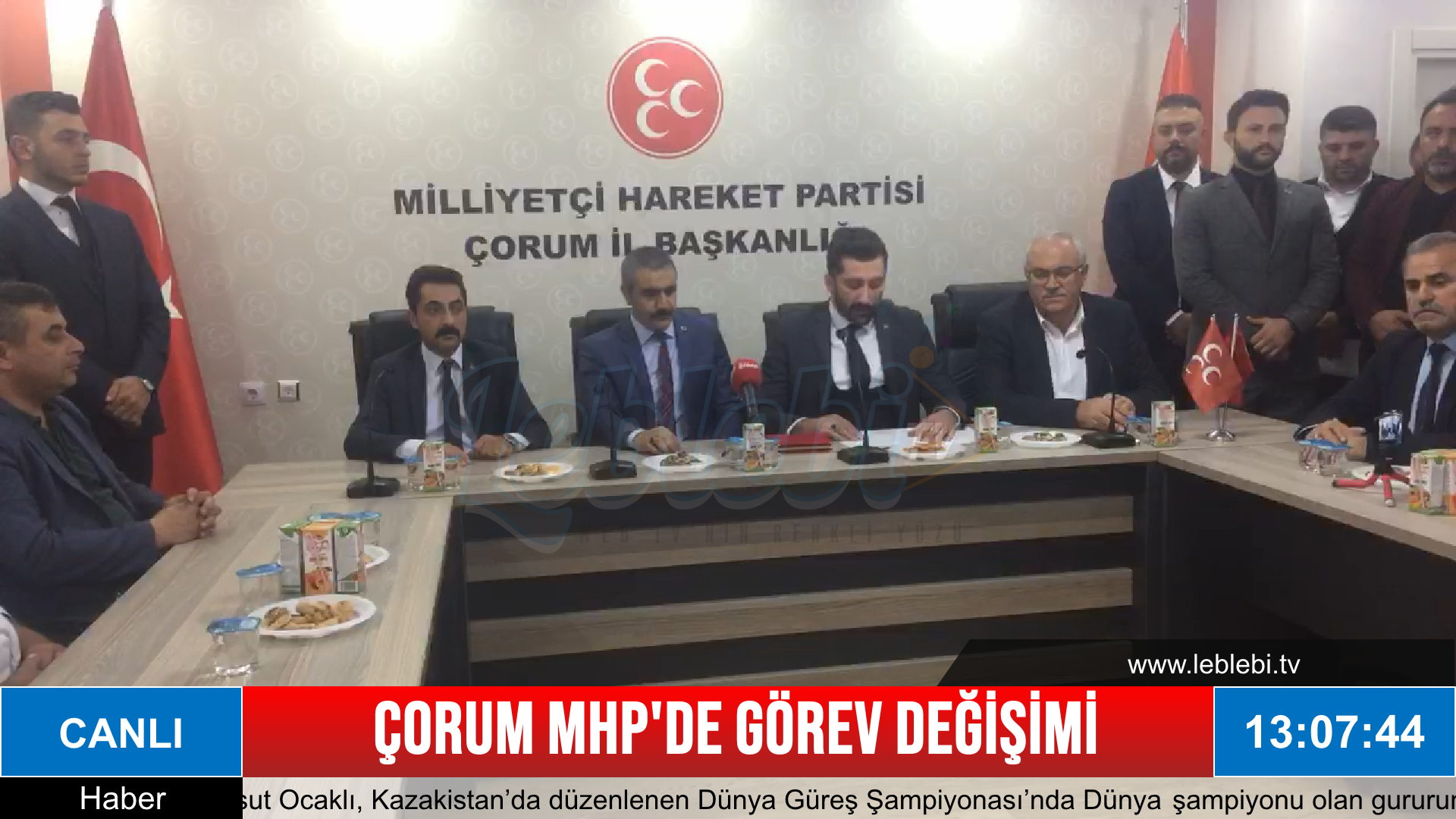 Çorum MHP'de Görev Değişimi