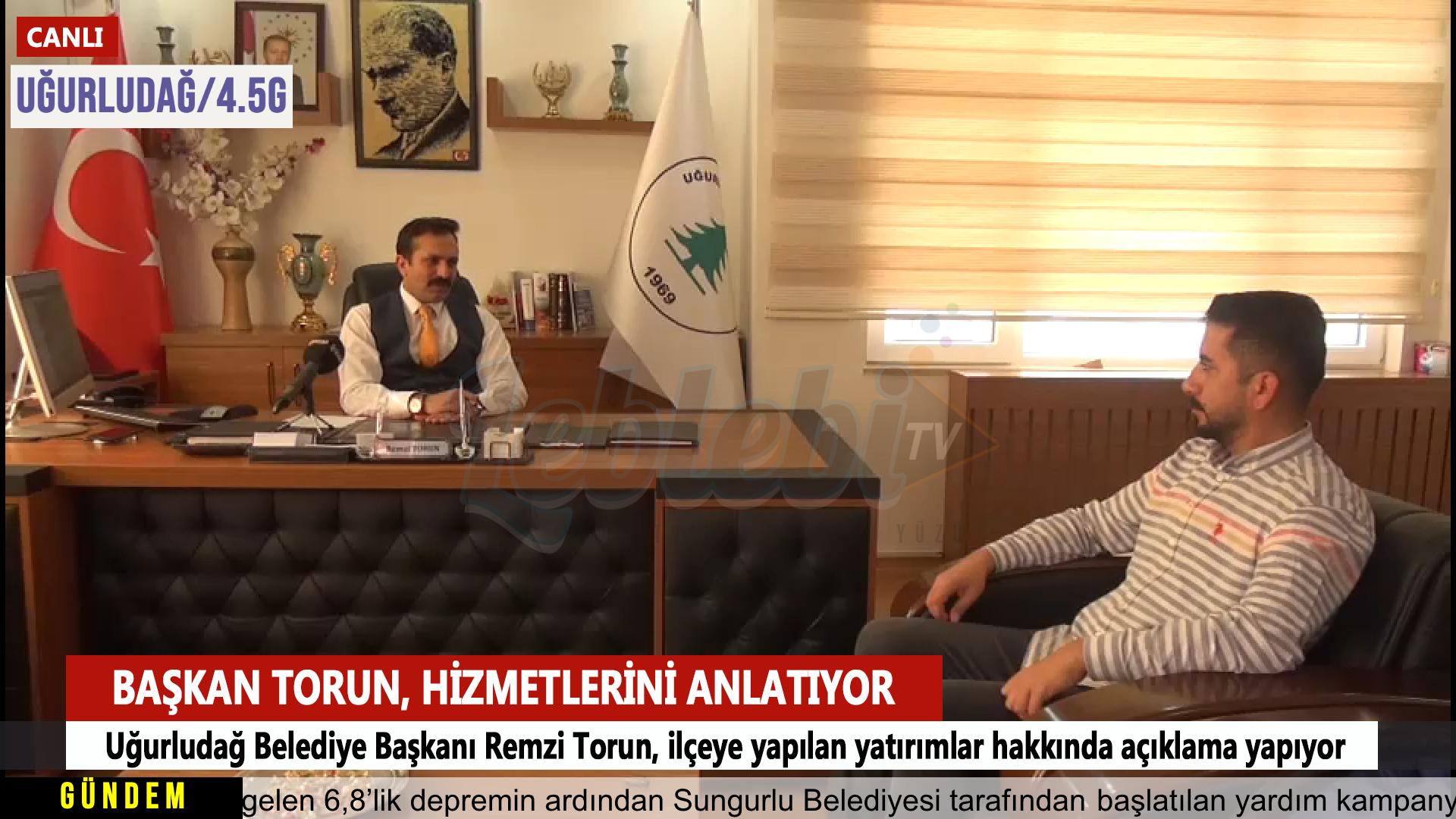 Uğurludağ Belediye Başkanı Remzi Torun, İlçeye Yapılan Yatırımları Anlattı