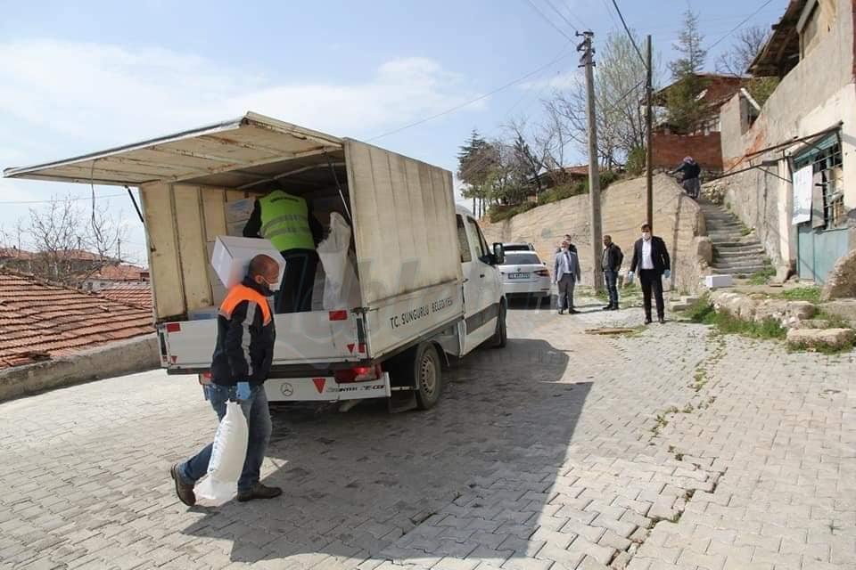 Çorum'da İhtiyaç Sahiplerine 12 Milyon 904 Bin Liralık Yardım Yapıldı