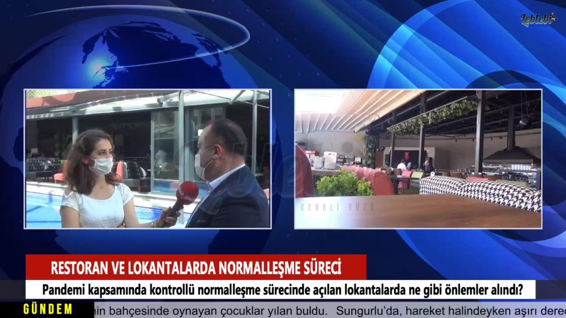 Lokanta ve Restoranlarda Koronavirüse Karşı Alınan Önlemler