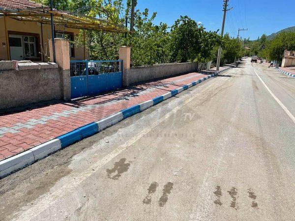 Ortaköy'de Hizmetler Bayrama Yetiştirildi