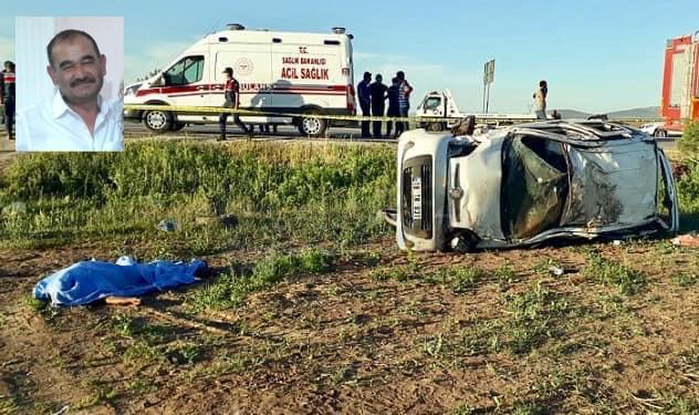 Kazada Camdan Fırlayarak Hayatını Kaybetti