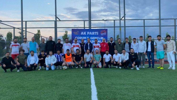 Ahmet Sami Ceylan Gençlerle Sahaya Çıktı