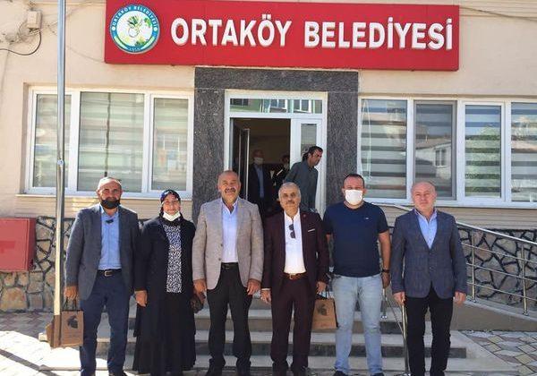 Çerikci Ve Yönetiminden Ortaköy Ziyareti