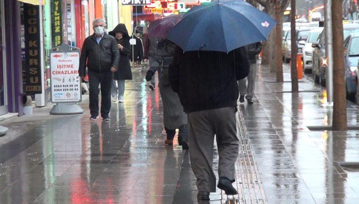 Meteoroloji Genel Müdürlüğünden Sağanak Yağış Uyarısı