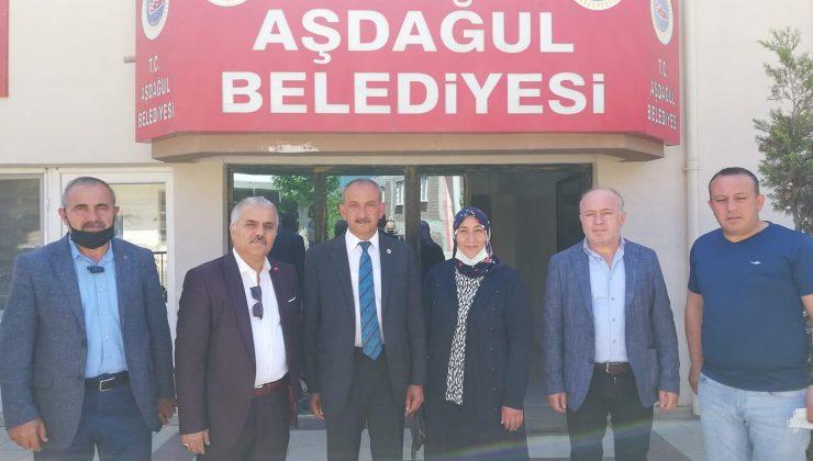 Çerikçi Ve Erarslan'dan Aşdağul Belediyesi'ne Nezaket Ziyareti