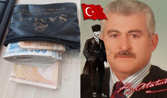Dedektif Gibi Çalışıp Para Dolu Cüzdanın Sahibine Ulaştı