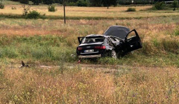 Osmancık'ta Meydana Gelen Kazada 1 Kişi Öldü 2 Kişi Yaralandı