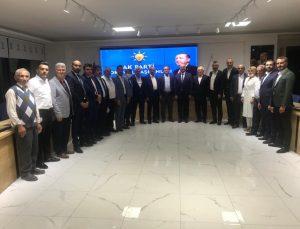 CHP Aşdağul Belediye Meclis Üyesi AK Partiye geçti
