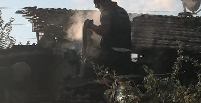 Tandırlık Yangını Korkuttu