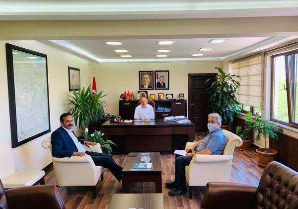 Başkan Torun Özel İdare'yi Ziyaret Etti