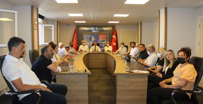 Kılıçdaroğlu'nun Çorum Ziyareti Öncesi Öneriler Tartışıldı